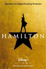Hamilton (Disney+) Movie Poster