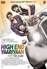 High End Yaariyaan Movie Poster