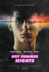 Hot Summer Nights Large Poster