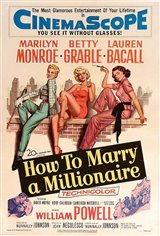 How to Marry a Millionaire Large Poster