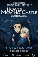 Howl's Moving Castle - Studio Ghibli Fest 2018 Movie Poster