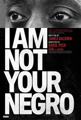 I Am Not Your Negro Movie Poster