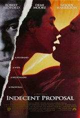 Indecent Proposal Movie Poster
