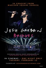 Josh Groban Bridges from Madison Square Garden Movie Poster