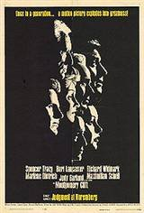 Judgement at Nuremberg Movie Poster