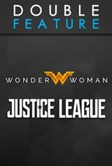 Justice League & Wonder Woman Double Feature Movie Poster