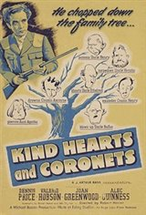 Kind Hearts and Coronets Movie Poster