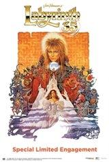 Labyrinth 35th Anniversary Movie Poster
