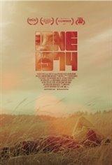 Lane 1974 Large Poster