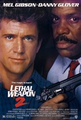 Lethal Weapon 2 Movie Poster