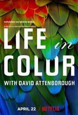 Life in Color with David Attenborough (Netflix) Movie Poster