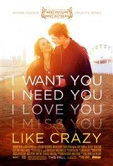 Like Crazy (2011) Movie Poster