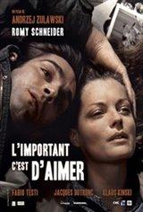 L'important c'est d'aimer Movie Poster