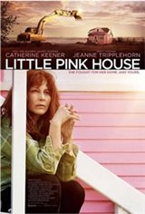 Little Pink House Large Poster