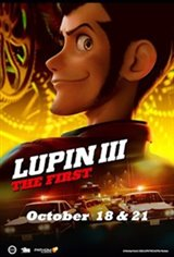 Lupin III: The First Large Poster