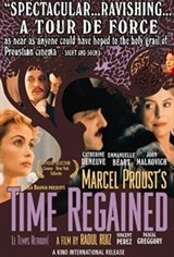 Marcel Proust's Time Regained Movie Poster