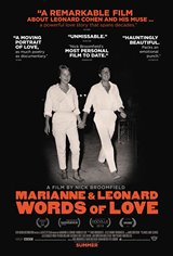 Marianne & Leonard: Words of Love Movie Poster