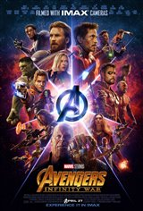 Marvel Studios 10: Avengers: Infinity War (IMAX) Movie Poster