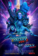 Marvel Studios 10th: Guardians of the Galaxy: Vol. 2 (IMAX 3D) Movie Poster