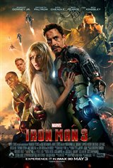 Marvel Studios 10th: Iron Man 3 (IMAX 3D) Movie Poster