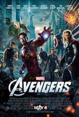 Marvel Studios 10th: The Avengers (IMAX 3D) Movie Poster