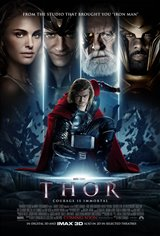 Marvel Studios 10th: Thor (IMAX 3D) Movie Poster