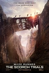 Maze Runner: The Scorch Trials Movie Poster