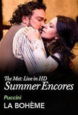 MET Summer Encore: La Boheme Movie Poster