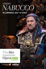 Met Summer Encore: Nabucco Movie Poster