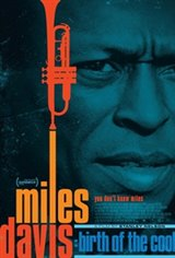 Miles Davis: Birth of the Cool Large Poster