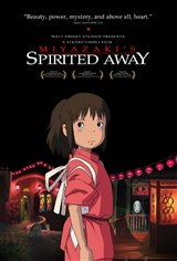 Miyazaki's Spirited Away (Dubbed) Movie Poster