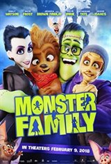 Monster Family 3D Movie Poster