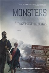 Monsters (2010) Movie Poster