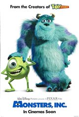 Monsters, Inc. Movie Poster Movie Poster
