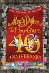 Monty Python and the Holy Grail 40th Anniversary Movie Poster