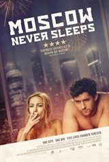 Moscow Never Sleeps Large Poster