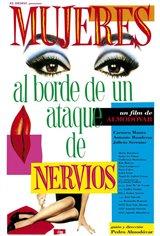 Mujeres al borde de un ataque de nervios Movie Poster
