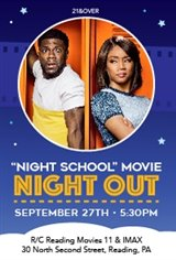 Night School Night Out Large Poster