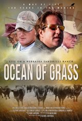 Ocean of Grass Large Poster