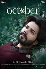 October (Hindi) Large Poster