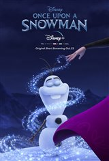 Once Upon a Snowman (Disney+) Movie Poster
