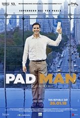 Pad Man (Padman) Movie Poster