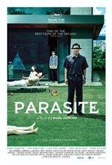 Parasite - Black & White Movie Poster
