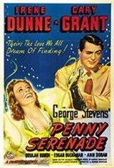 Penny Serenade Movie Poster