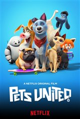 Pets United (Netflix) Movie Poster