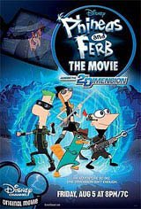 Phineas and Ferb The Movie: Across the 2nd Dimension in Fabulous 2D Movie Poster