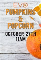 Popcorn & Pumpkins Movie Poster