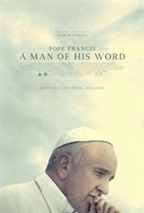 Pope Francis: A Man of His Word Large Poster