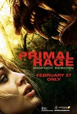 PRIMAL RAGE - Bigfoot Reborn Movie Poster