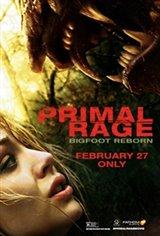 PRIMAL RAGE - Bigfoot Reborn Movie Poster